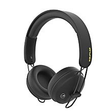 A800BL Bluetooth Headphones Wireless with Microphone - Black