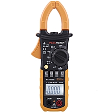 PEAKMETER MS2008B Digital 4000 Counts Auto Range Data Hold AC Clamp Meter Multimeter with Backlight