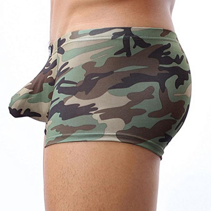 0b6a1edafb ... Xiuxingzi Military Men s Camouflage Boxer Briefs Trunks Underwear  Underpant Xiuxingzi Military ...