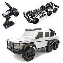 HG P601 1/10 2.4G 6WD Rc Car Rock Crawler RTR 20km/h Metal Chassis RTR Toy-