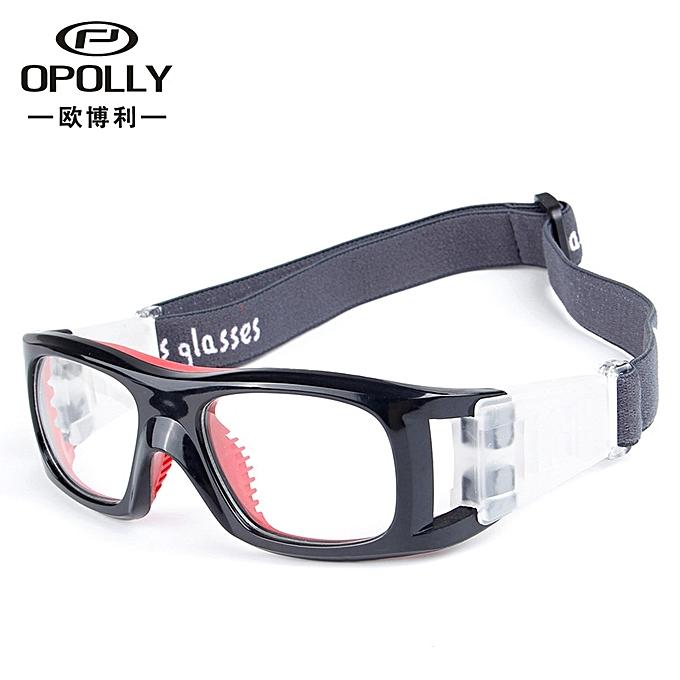 e1fed8e460 Football Glasses Outdoor Sports Myopic Antifogging Basketball Goggles Black  Red