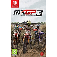 Switch Game MXGP3 The Official Motocross Vdeo Game