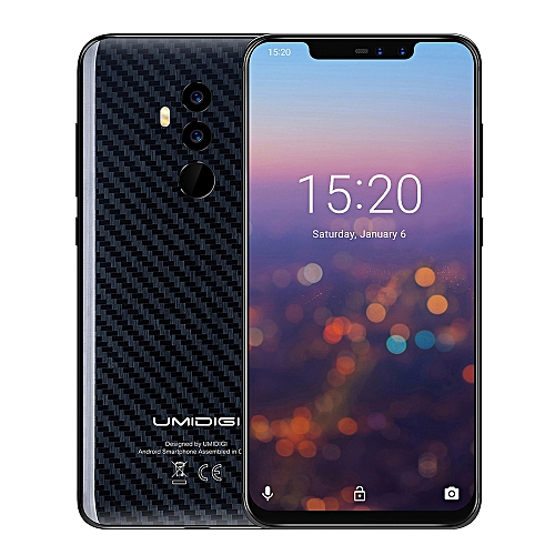 Z2 PRO 4G Phablet 6.2 inch Android 8.1 6GB + 128GB-BLACK