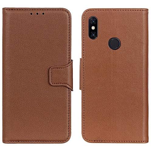 timeless design 8a851 b91d9 Redmi Note 5 Pro Case,Litchi Skin PU Leather [Wallet Flip Cover] [Card  Holder] Stand Magnetic Folio Case for Xiaomi Hongmi Note 5 Pro 5.99