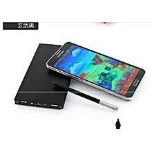 Ultra thin portable metal mobile power bank