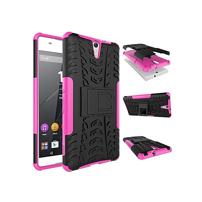 Wonderbaar Coosybo For Xperia [C5 Ultra] Case, Hard PC+Soft TPU Shockproof CY-52
