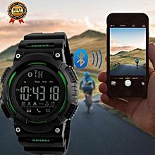 Skmei [100% Genuine] 2017 New Popular SKMEI Men Smart Watch Pedometer Calories Chronograph Fashion Sport Watches Chronograph 50M Waterproof Digital ...