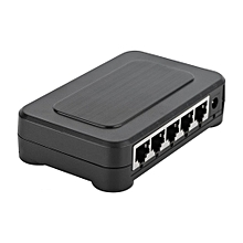 5 Port Gigabit Mini Network Full/Half Duplex Adaptive Fast Ethernet Switch(Switch)