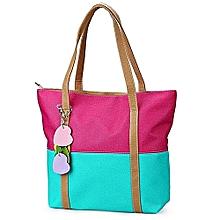 Unique Casual Handbag - Multicoloured
