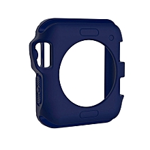TPU Protective Case for Apple Watch Series 3 & 2 & 1 42mm(Blue)