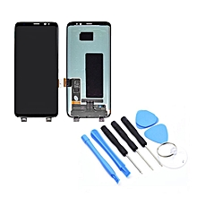 Display Screen Digitizer Assembly without Frame For Samsung S8+ G955F/G955AVTP Black