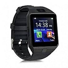 Touch Screen Digital Smart Watch Phone S90 - Black
