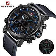 728def8f1 NAVIFORCE Dual Display Multifunction Men's Watch Digital Sports  Men'