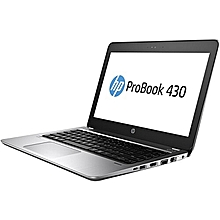 "HP ProBook 430 G4 -Intel Core i5-7200U – 13.3"" - 500GB HDD - 4GB RAM – Win 10 - Silver"