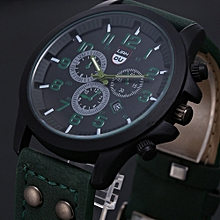 Vintage Classic Mens Waterproof Date Leather Strap Sport Quartz Army Watch GN