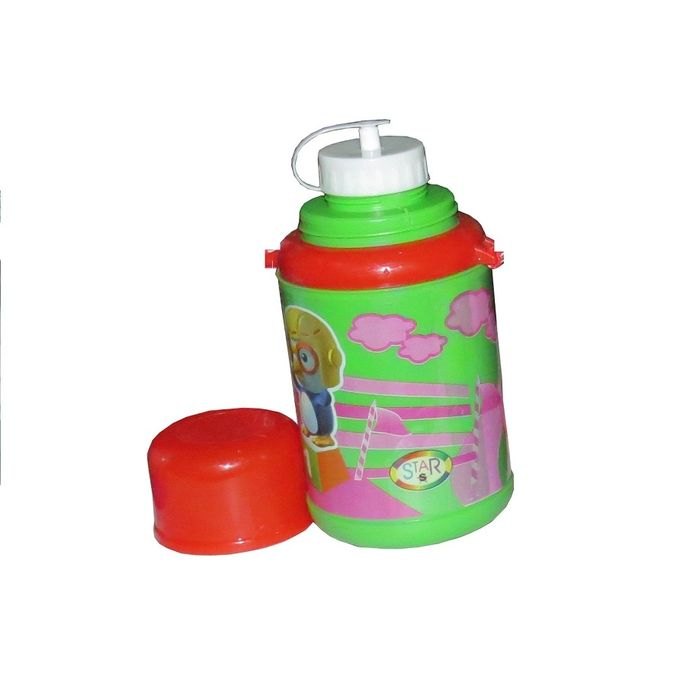 Water Bottle Kenya: Generic Kids Water Bottle - Red & Green