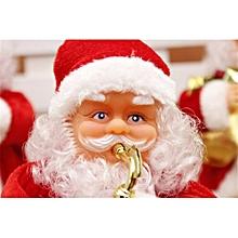 Rocking Santa With X-Mas Carol Uses 3XAA BTY - 12'