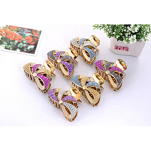 Coloured hair clip with skin patch, shower clip, Banghai clip, hair edge  clip, hair clip and hairdressing claw
