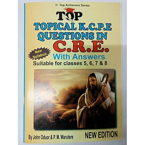 Topical K C P E Questions in C R E