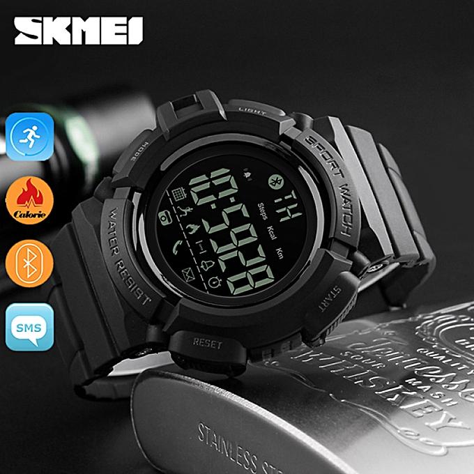 SKMEI Brand Watch Men Digital Pedometer Fitness Tracker Clock Calorie Smart Watch Relogio Masculino Fashion Sports