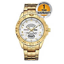 Solar Men Watch - Gold