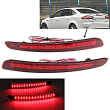 2x LED Rear Bumper Reflectors Light Warn Tail Brake Fit Ford Mondeo Fusion 11-12
