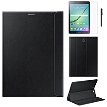 Leather Case For Samsung Galaxy Tab S2 8 Inch T710 T715 +Film +Pen BK
