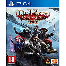 PS4 Game Divinity Sin 2 Definitive Edition
