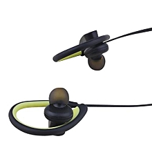iL98BL Bluetooth Wireless Headphone Sport Ear hanging headsets Magnetic Earbuds for Running - Green