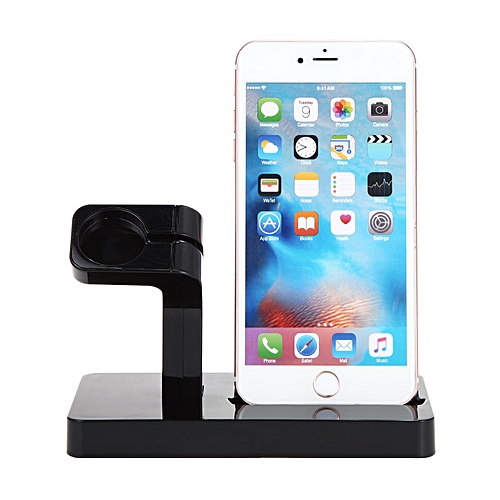 newest 7905f d98d7 YIESOM 2 IN 1 Charging Dock Station Cradle Stand Holder Charger For iPhone  X XR XS Max 8 7 6S 6 Plus SE For Apple Watch Charger MEGOSHOEP
