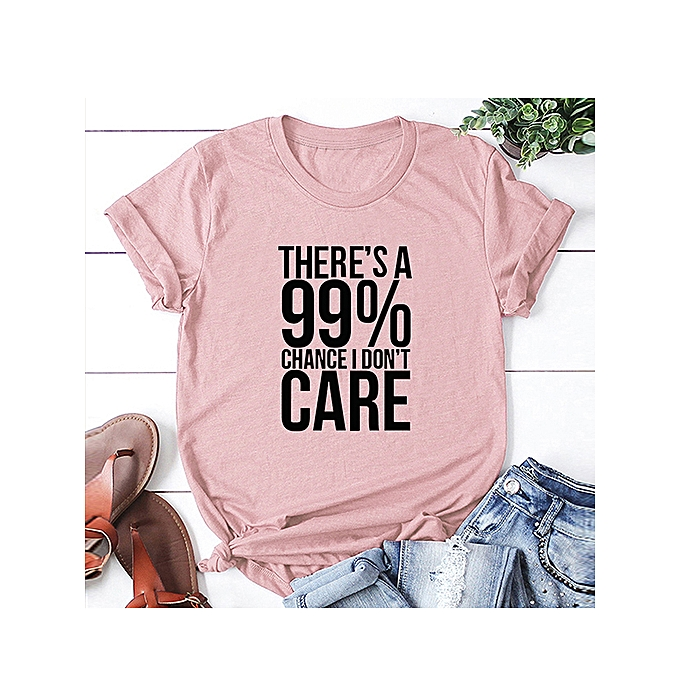 c6cadd755992 ... Fashion Women Slogan T-shirt Short Sleeves O Neck Letters Print Plus  Size Cotton Cool ...