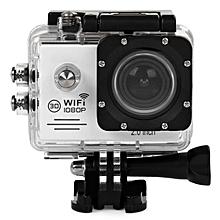 SJ7000 Action Camera 2-inch LCD Wifi Waterproof Sports Cam White JY-M