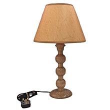 Wooden Meru Oak Table Lampshade