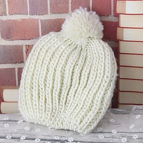 258f0297f8c Eissely Children Keep Warm Winter Kids Baby Hats Knitted Ball Hat ...