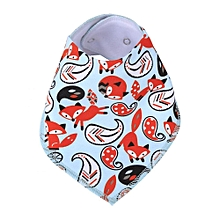 Insular Cute Baby Infant Cotton Bandana Newborn Feeding Drool Bib Saliva Towel Triangle Scarf