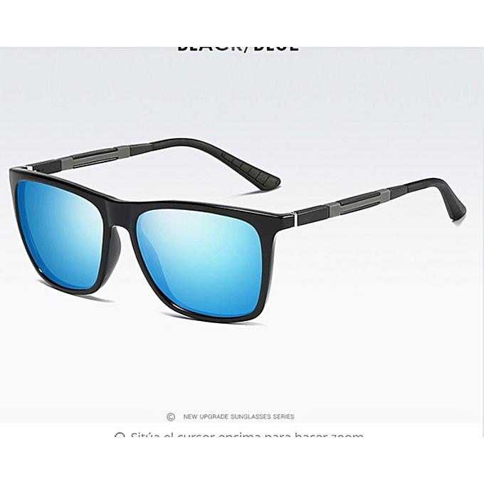 8a2a470d78c4 Polarized Sunglasses Men Classic Women Square Glasses Aluminium Magnesium  Driving Travel Eyewear Gafas Oculos Pink UV400