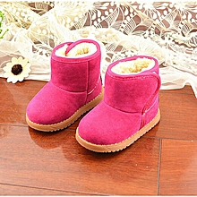 e5b597390835b New Infant Toddler Baby Girls Boots Boys Kids Winter Thick Snow Boots Fur  Shoes-EU