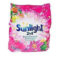 2 in 1 Washing Powder & Softener Tropical sensation 1kg