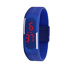Kids' Silicone Digital Watch - Blue