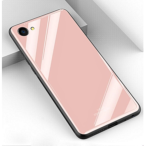 ... Aluminium Bumper With Mirror Backdoor Slide - Silver. Source · Vivo V5 Y67 Glass Case, Ultra Thin Stronger Tempered Glass Back Cover + TPU Frame