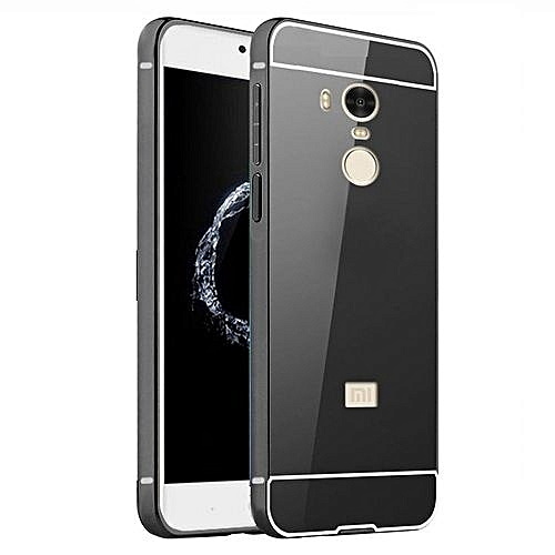 cheap for discount cba78 3b049 Luxury Plating Mirror Case Aluminum Metal Metal + Acrylic Hard Back Cover  For Xiaomi Redmi 4 Pro / 4 Prime 32GB (Color:c0)