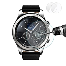 2 Packs Enkay 2.5D Tempered Glass Screen Protector For Samsung Galaxy Gear S3 Frontier/Classic