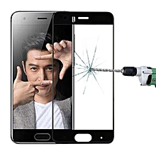 Huawei Honor 9 0.3mm 9H Surface Hardness 3D Curved Silk-screen Full Screen Tempered Glass Screen Protector(Black)