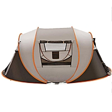 5-6 Persons Pop Up Outdoor Waterproof Camping Hiking Family Tent Travel Hiking