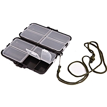 9 Compartments Storage Accessories Box Fly Fishing Lure Spoon Hook Bait Fishing Gadgets Tackle Case