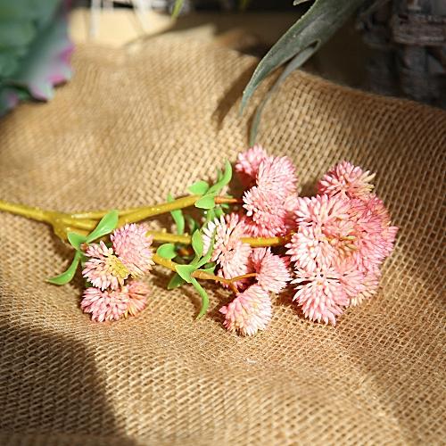 Muyi Artificial Silk Fake Flowers Plant Fruit Floral Wedding Bouquet