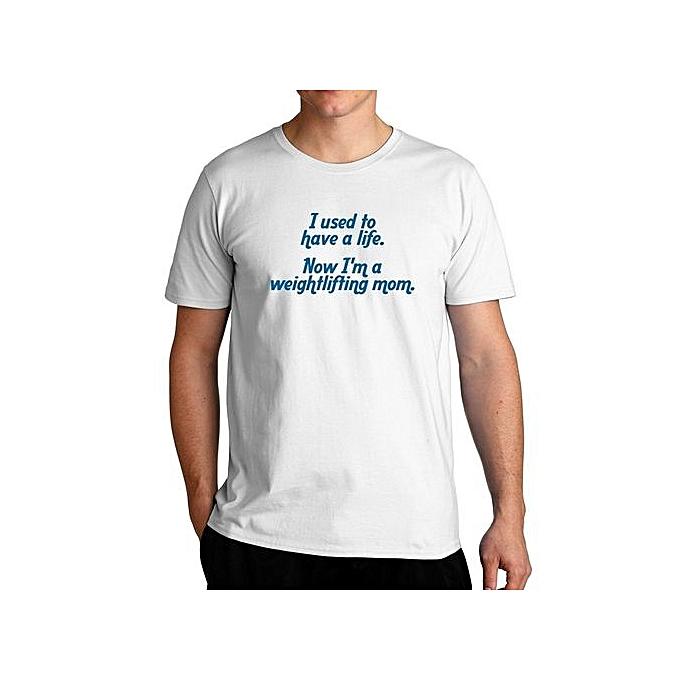 b0bb19765 Fashion I Used To Have A Life Now I'm A Weightlifting Mom T-Shirt ...