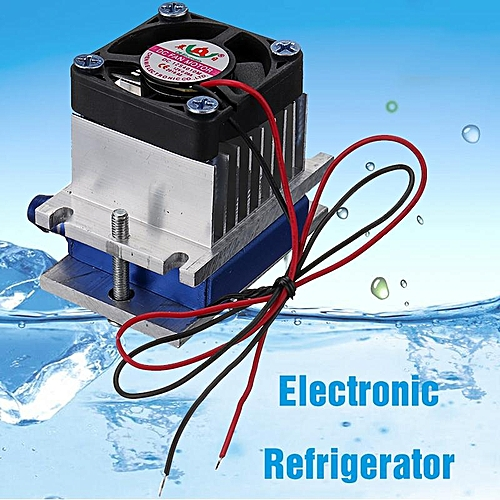 Thermoelectric Peltier Refrigeration Cooling System Kit Small Size Semiconductor