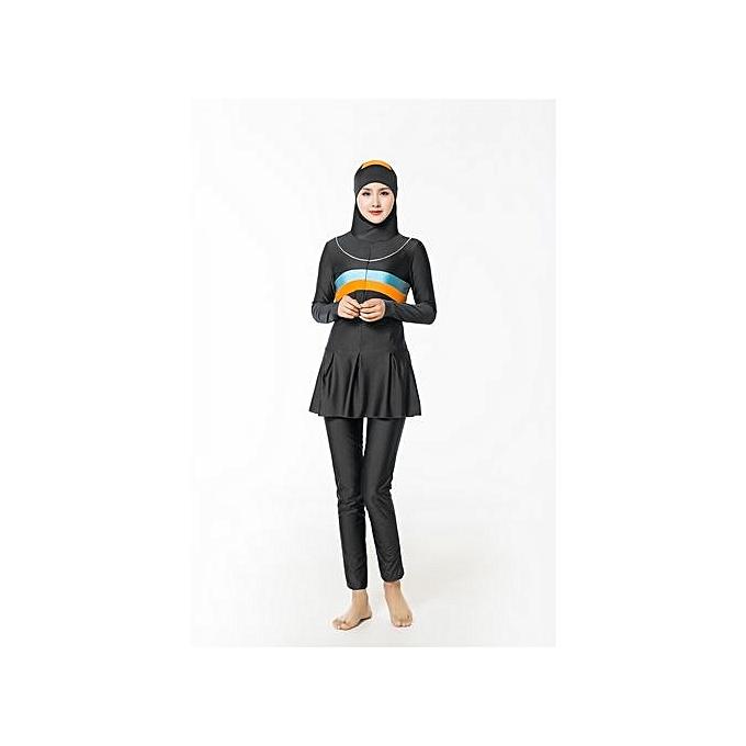 6201f26312e9a Muslimah High Quality Muslim Women Swimwear Islamic Swimsuit For Women  Hijab Swimwear Coverage Conservative Swimwear Muslim