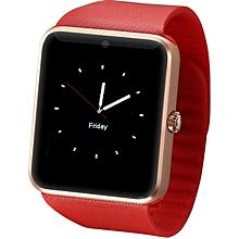 Smartwatch GT08 - Bluetooth Smart Watch Phone - Gold & Red